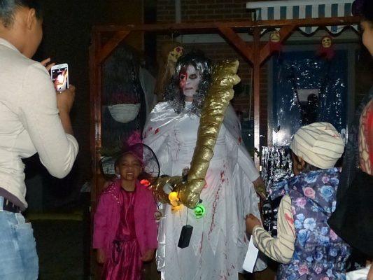 Het jaarlijkse Halloweenfeest