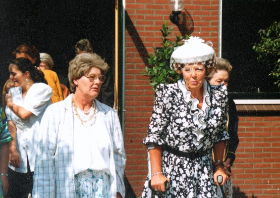 1991-08-20 A4 Bezoek koningin Beatrix aan 't Zwervel 9