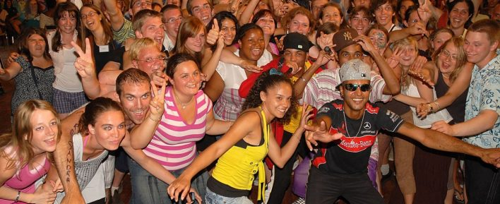 Europese Djynamo jongeren ontmoeting in België